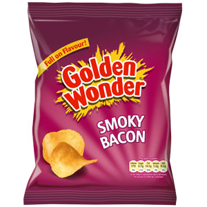 Picture of Golden Wonder: Smoky Bacon (Case of 48 Packs)