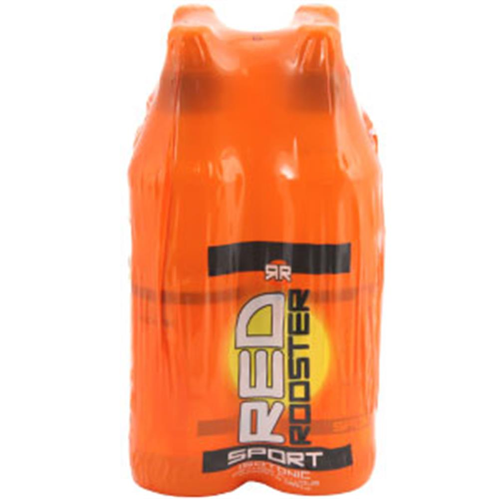 Picture of Red Rooster Energy Drink: Orange (Case of 24 Bottles)
