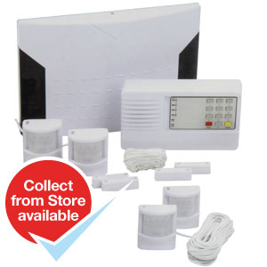 Buy Professional Wired Alarm System At Home Bargains