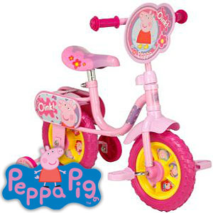 Buy Peppa Pig My First Training Bike 10 At Home Bargains