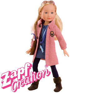 Buy Annabell Tween Doll Pink Coat At Home Bargains