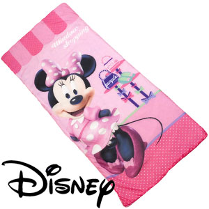 new style 950e5 fdfc7 Buy Minnie Mouse Sleeping Bag at Home Bargains