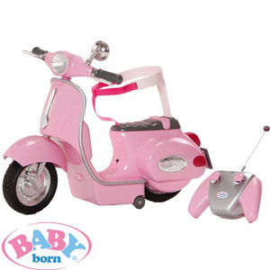 Buy Baby Born Rc City Scooter At Home Bargains
