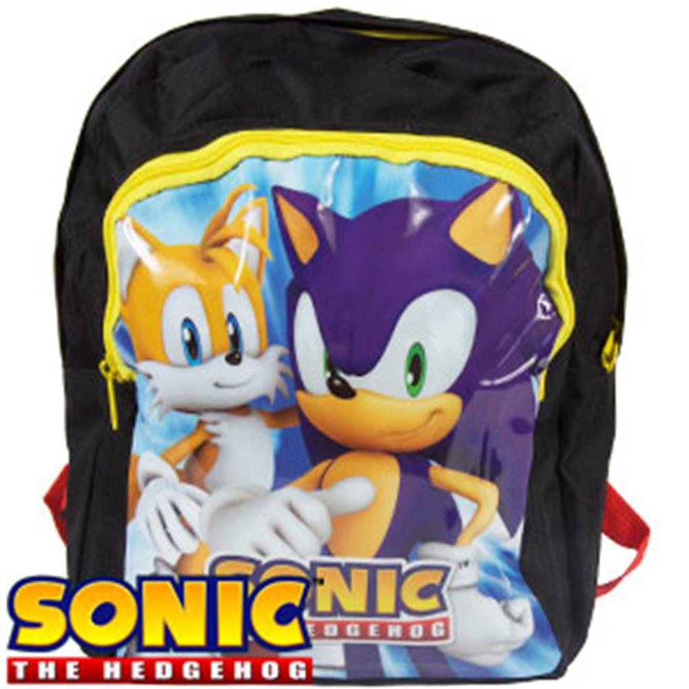 Buy Sonic The Hedgehog Backpack At Home Bargains