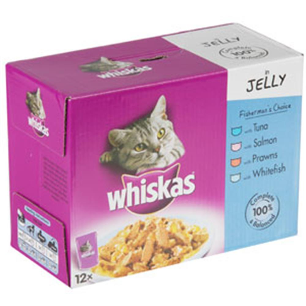 Picture of Whiskas Fish Choice 12 Pack Pouches (Case of 4)