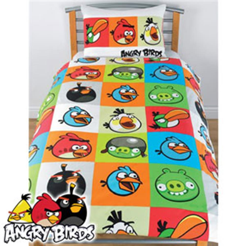 Buy Angry Birds Single Duvet Cover At Home Bargains