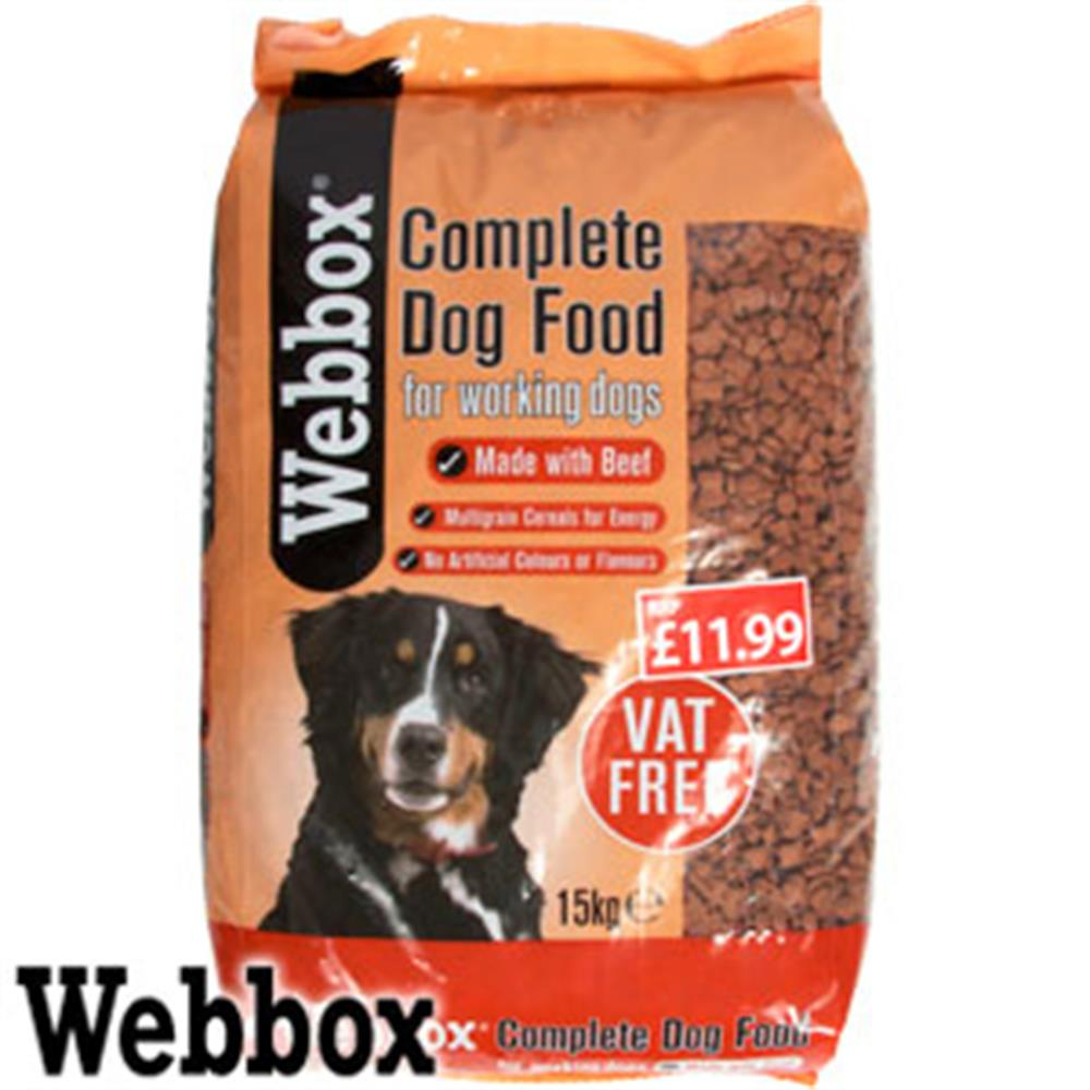 Picture of Webbox 15kg Complete Dry Dog Food Sack