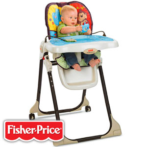 Buy Fisher Price Baby Zoo Healthy Care High Chair At Home