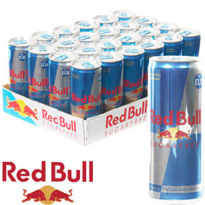 buy red bull sugar free 24 x 250ml cans at home bargains. Black Bedroom Furniture Sets. Home Design Ideas