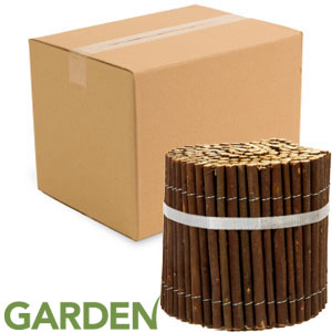 Buy Garden Willow Fence (Case of 12) at Home Bargains