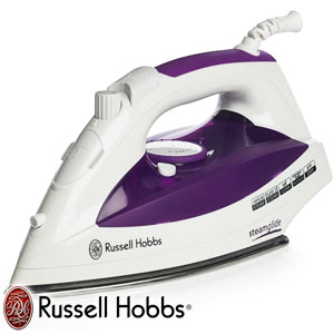 buy russell hobbs steamglide iron at home bargains. Black Bedroom Furniture Sets. Home Design Ideas