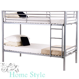 Buy Carlton Bed Frame Bunk At Home Bargains