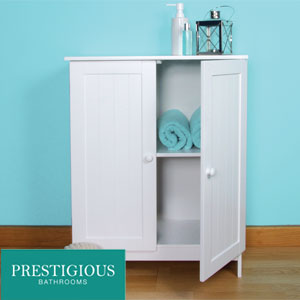 buy prestigious bathrooms double door cabinet at home bargains