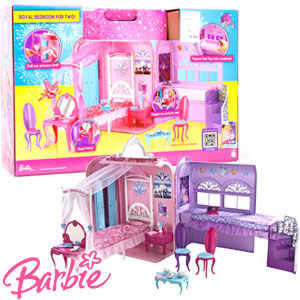 Miraculous Buy Barbie Princess Popstar Royal Bedroom For Two At Home Download Free Architecture Designs Rallybritishbridgeorg