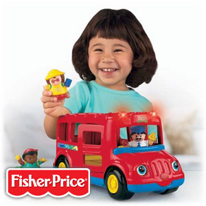 Buy Fisher-Price Little People Beeps the School Bus at Home Bargains