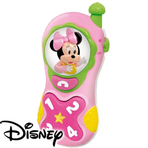 Buy disney minnie mouse lights sounds mobile phone at home bargains - Minnie mouse mobel ...