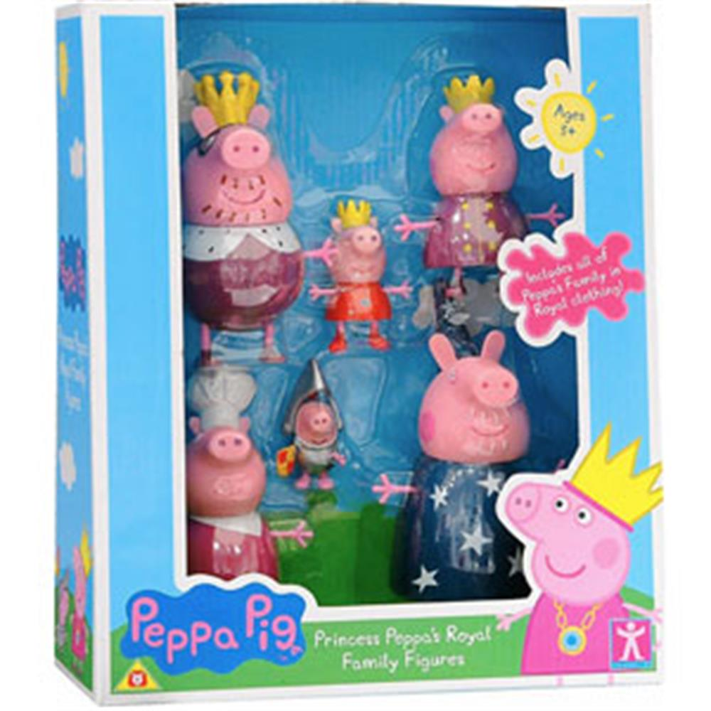 Picture of Peppa Pig Princess Peppa's Royal Family Figures