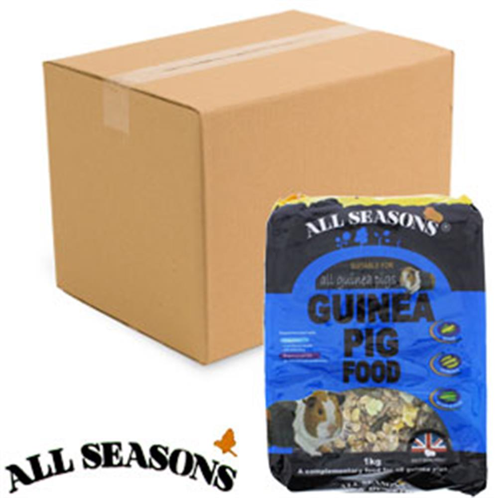 Picture of All Seasons Guinea Pig Food (12 x 1kg Bags)