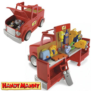 Buy Disney Handy Manny 2 In 1 Transforming Tool Truck At Home Bargains