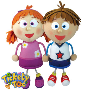 Buy Tickety Toc Talking Tommy Amp Tallulah Dolls At Home
