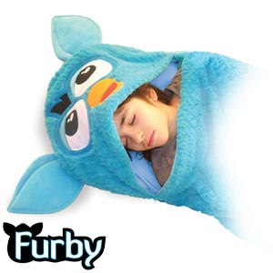 online store ef24d c09c2 Buy Furby Plush Sleeping Bag at Home Bargains