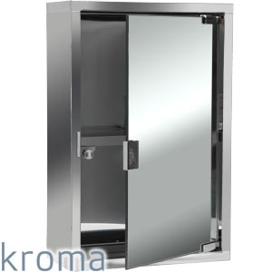 buy kroma bathroom mirror cabinet at home bargains