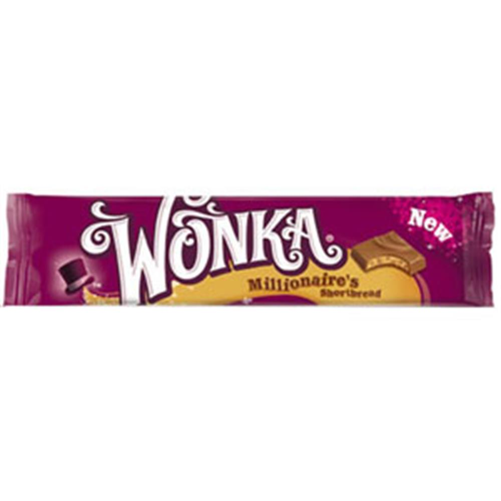 Buy Wonka Millionaires Shortbread Case Of 35 Bars At Home