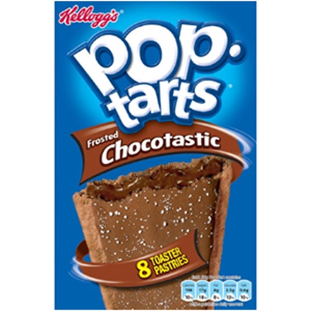 Picture of Kellogg's Pop Tarts: Frosted Chocotastic (96 x 48g Tarts)