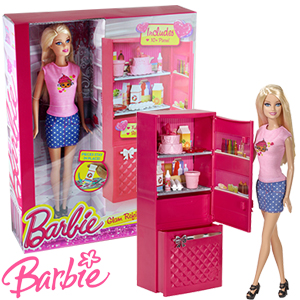 Buy Barbie Glam Refrigerator At Home Bargains