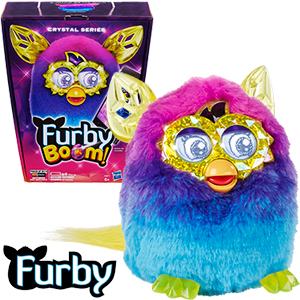 Buy Furby Boom Crystal Series: Blue & Purple at Home Bargains