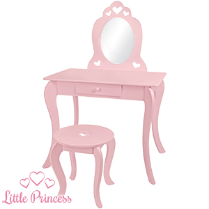reputable site 802a7 0a790 Buy Little Princess: Dressing Table with Stool at Home Bargains