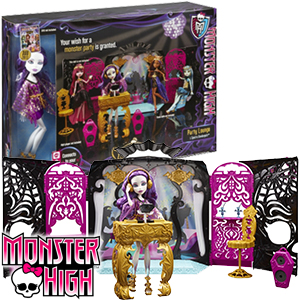 ... Monster High Party Lounge & Spectra Vondergeist Doll at Home Bargains