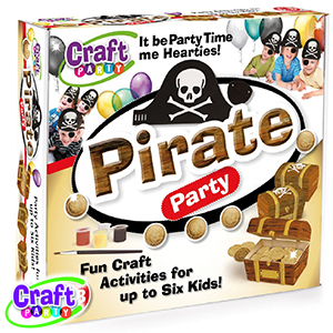Buy Craft Party: Pirate Party at Home Bargains