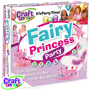 Buy Craft Party: Fairy Princess Party at Home Bargains