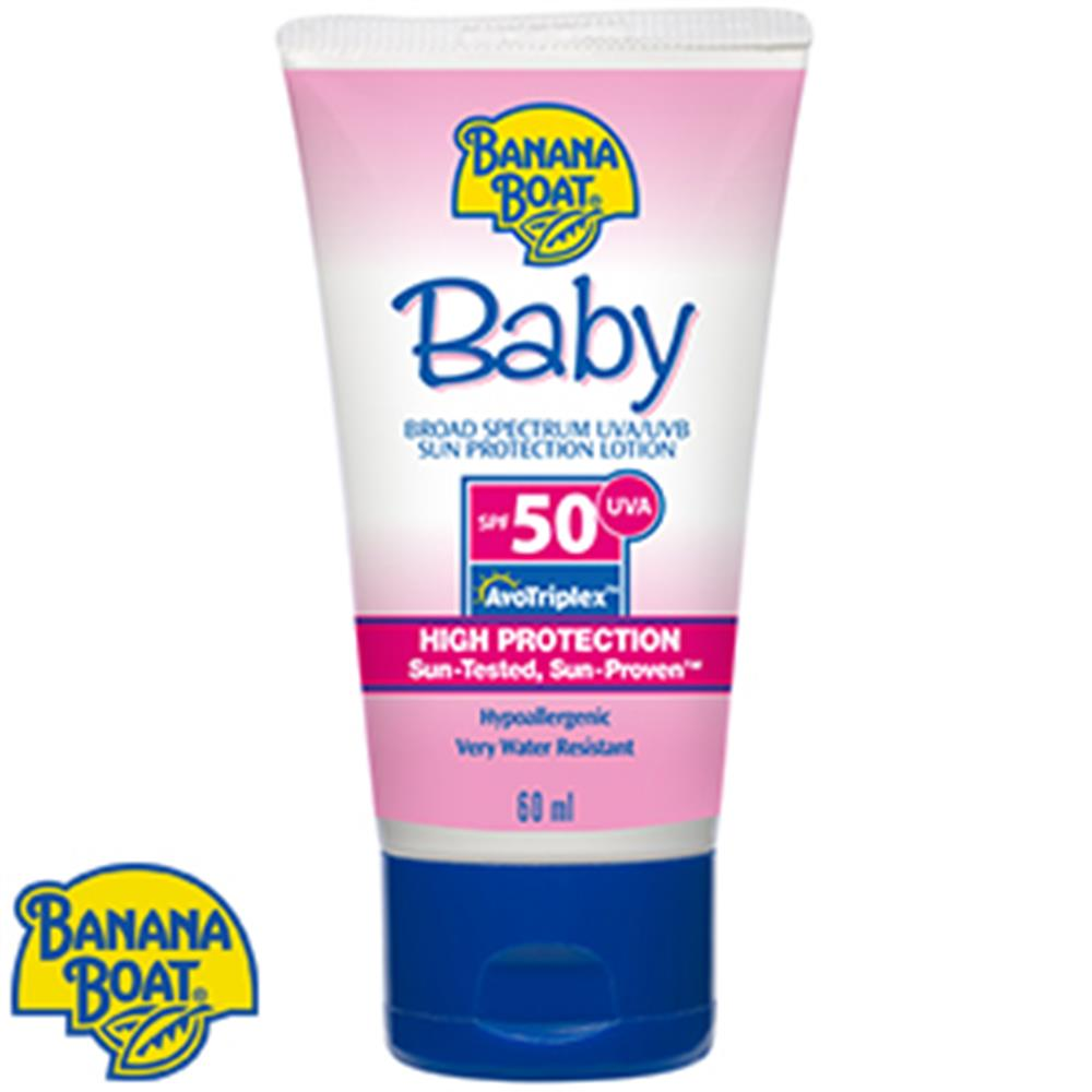 Picture of Banana Boat: Baby High Protection Sun Lotion SPF50
