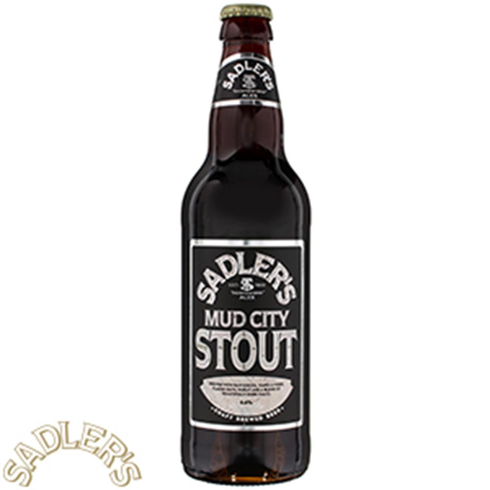 Picture of Sadlers Mud City Stout (8 x 500ml Bottles)