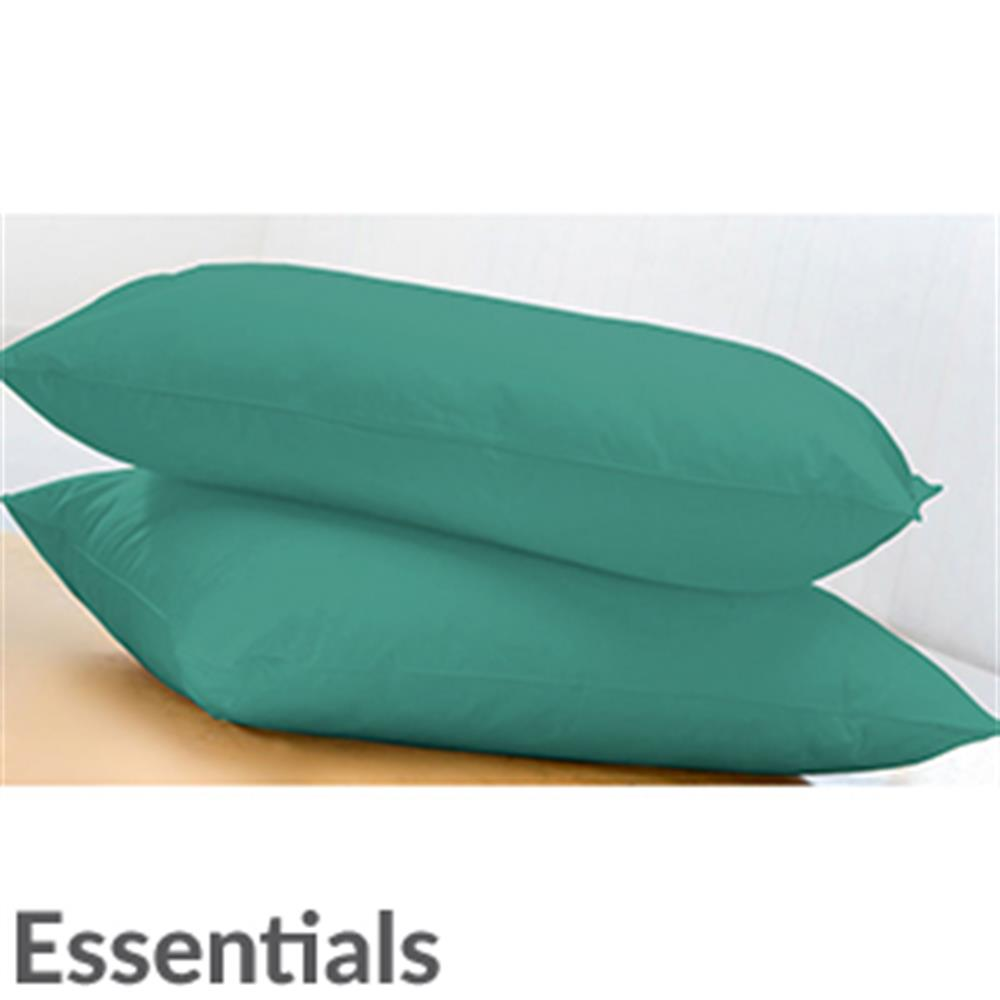 Picture of Essentials 1 Pair Pillowcases: Duck Egg
