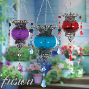 Buy Fusion Moroccan Style Hanging Tealight Holder At Home