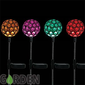 Buy Garden Colour Changing Solar Light At Home Bargains