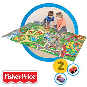 Buy Fisher Price Little People Wheelies Play Mat At Home