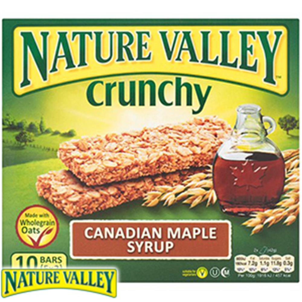 Picture of Nature Valley Crunchy Canadian Maple Syrup (5x5 Packs)