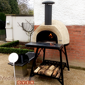 Buy Mediterranean Wood Fired Pizza Oven Free Home Del