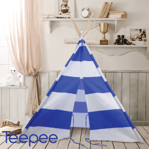 Buy teepee blue childrens play tent at home bargains picture of teepee blue childrens play tent gumiabroncs Image collections