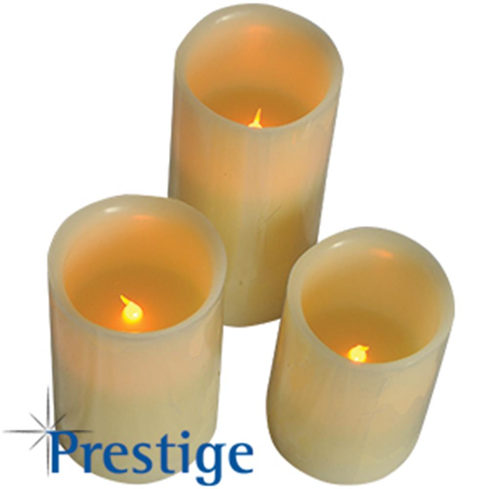 Picture of Prestige Vanilla Scented Flameless Candles