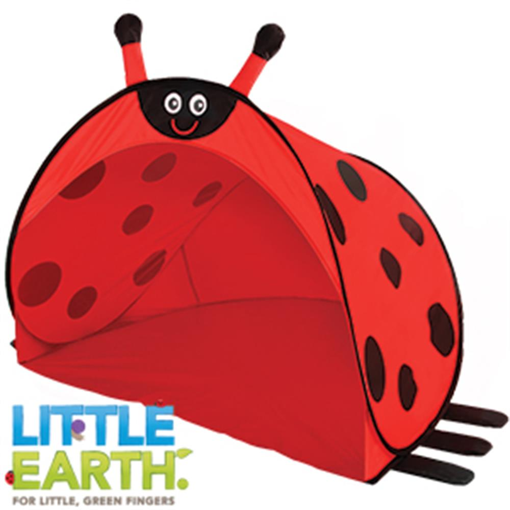 Picture of Little Earth: Pop-Up Play Tent (Ladybug)