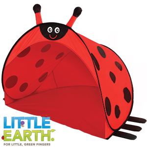 Buy Little Earth Pop Up Play Tent Ladybug At Home Bargains