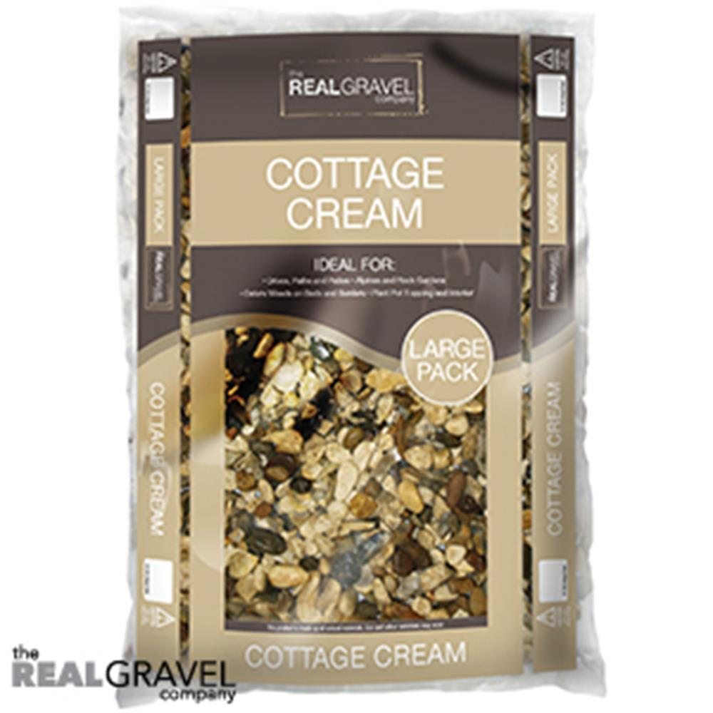 Picture of Real Gravel Company: Cottage Cream Chippings 20kg