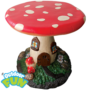 Buy Children S Mushroom Garden Table At Home Bargains
