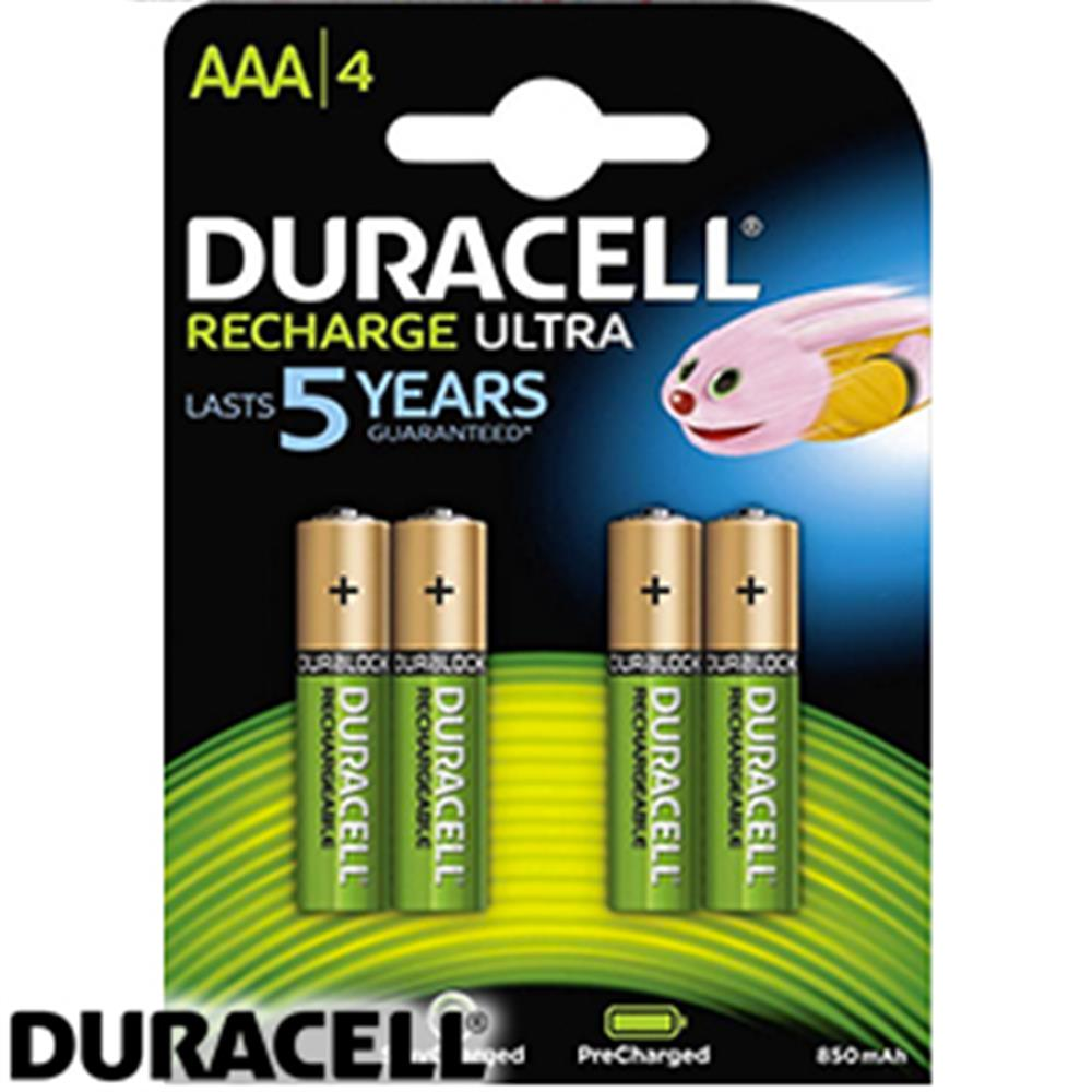 Buy Duracell Supreme Aaa Rechargeable Batteries At Home Bargains