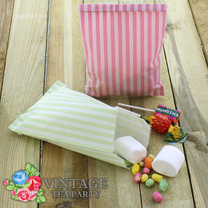 Buy Vintage Tea Party: Paper Treat Bags (Case of 120) at Home Bargains